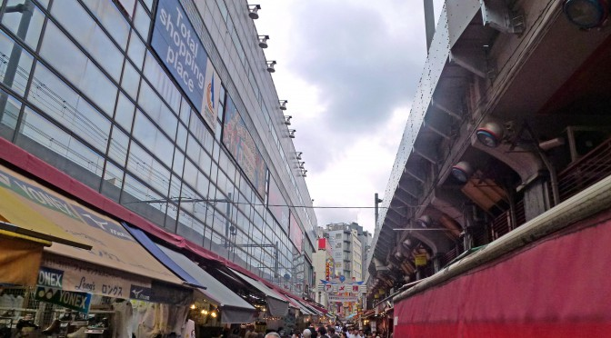 アメ横の商店街主導型アイドル劇場が閉館-JR工事の影響で