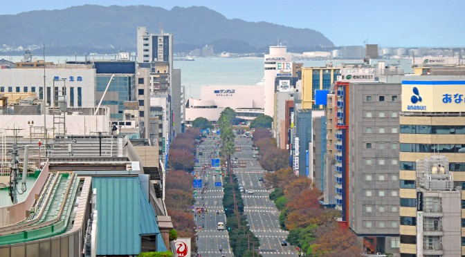 博多駅から博多港までのロープウェイ構想-JR九州