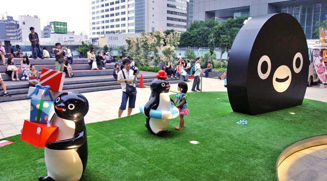JR東日本、新宿駅に「Suicaのペンギン広場」開設-「Suicaペンギン像」設置