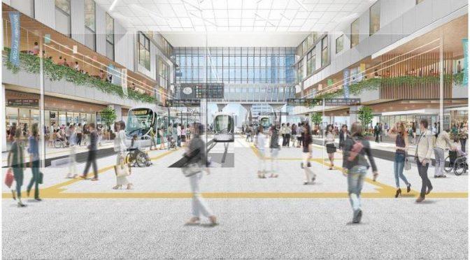 JR広島駅ビル、20階建てに建替えへ-ASSEは2020年春閉館、広電「2階乗り入れ」に