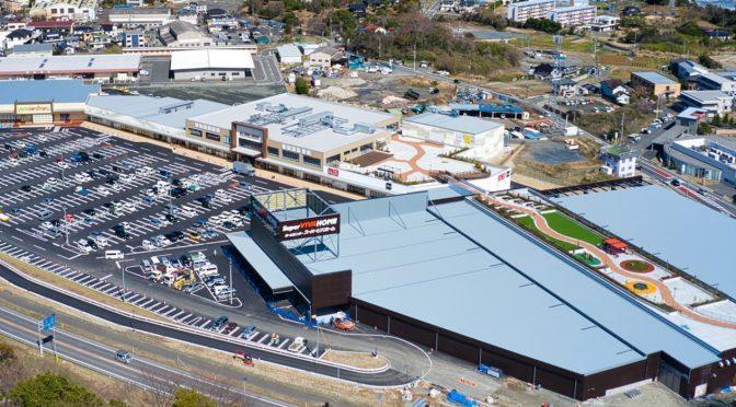 シーマークスクエア、2020年3月19日開業-日立公設市場跡地にベニマル・京成百貨店・映画館など出店