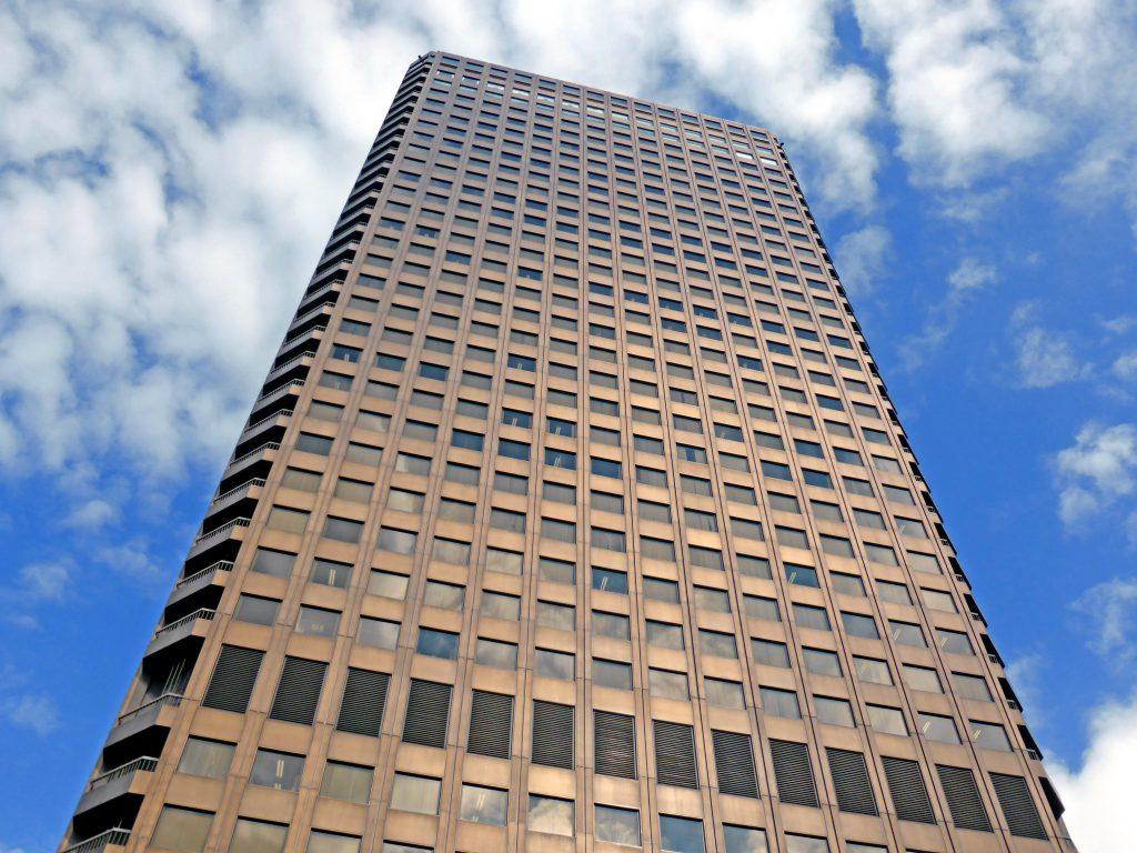 建て替え センタービル 世界 貿易