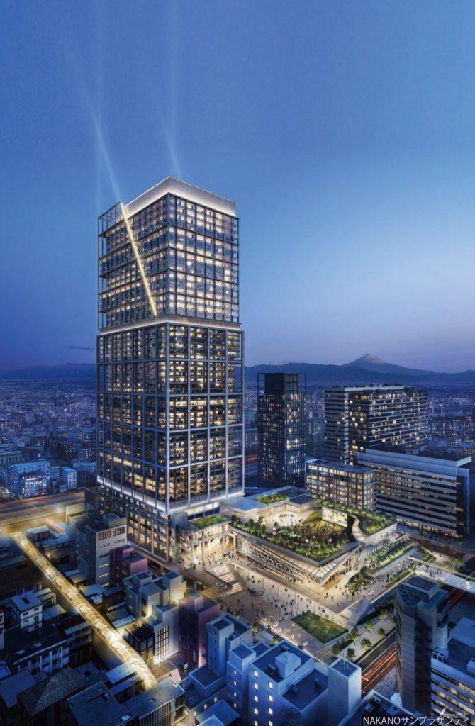 NAKANOサンプラザシティ、2028年度までに開業-新・中野サンプラザの概要発表、ホールは3倍に